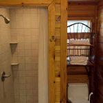 Sugar Suite Cabin 1 Shower and Batchroom